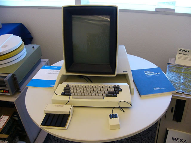 The Xerox Alto.