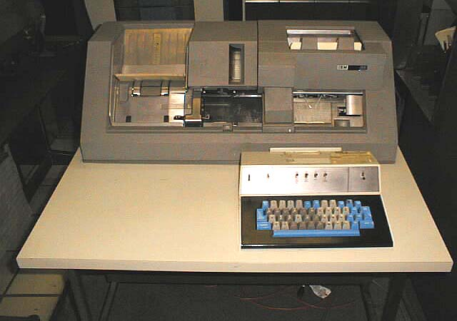 IBM 029 card punch.